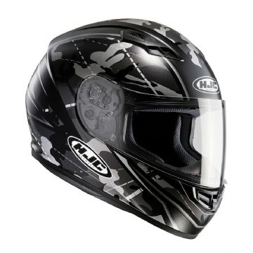HJC CS-15 Full Faced Motorcycle Motorbike Helmet Songtan Black RRP £89.99